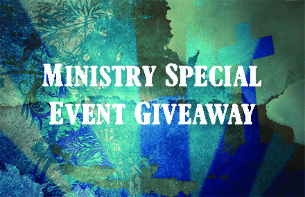 Ministry giveaway banner